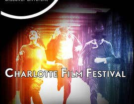 #102 untuk Design materials for the Charlotte International Film Festival oleh arfling