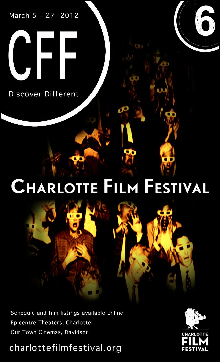 Proposition n°82 du concours Design materials for the Charlotte International Film Festival