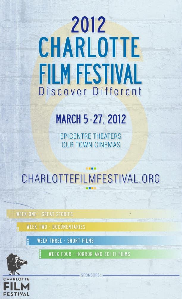 Proposition n°96 du concours Design materials for the Charlotte International Film Festival