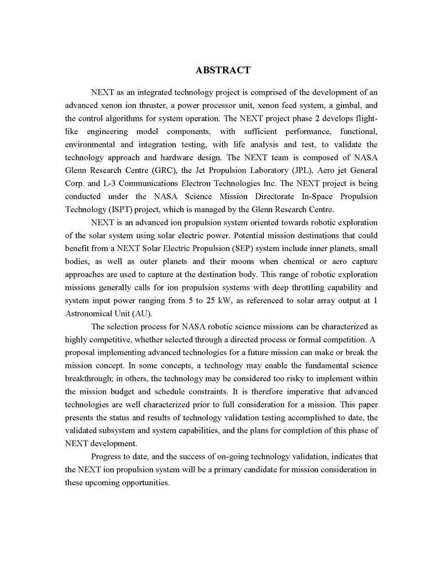 Inscrição nº                                         4                                      do Concurso para                                         Write a two Technical Reports and one power point presentation