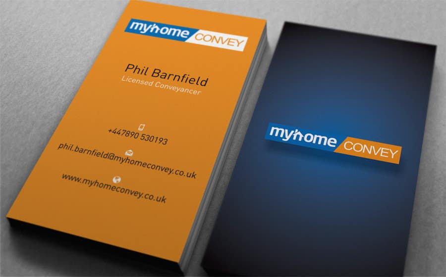 Penyertaan Peraduan #22 untuk Business Card Design for Real Estate Lawyer with revision of logo.
