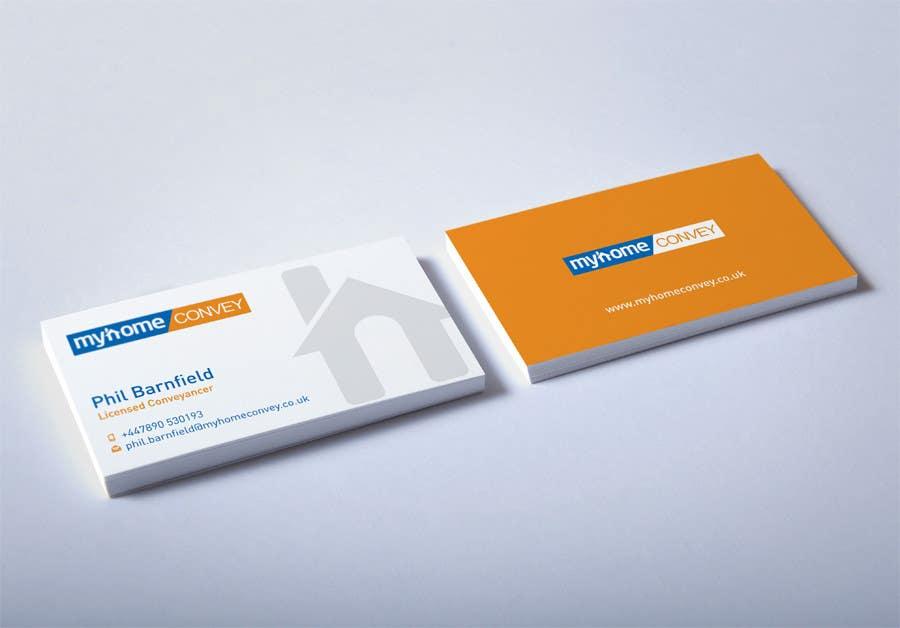 Penyertaan Peraduan #23 untuk Business Card Design for Real Estate Lawyer with revision of logo.