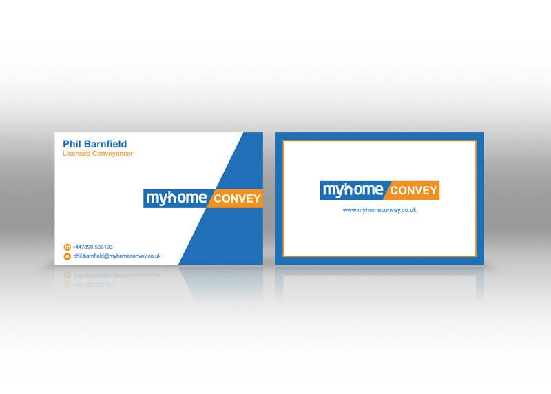 Penyertaan Peraduan #42 untuk Business Card Design for Real Estate Lawyer with revision of logo.