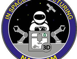 #668 for NASA In-Space Manufacturing Logo Challenge by Angiekta1987