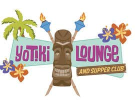 crvdesign tarafından Design a Logo for a Tiki Bar / Restaurant - Artists with 50's flair wanted! için no 74