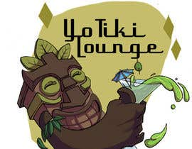 dumbfished tarafından Design a Logo for a Tiki Bar / Restaurant - Artists with 50's flair wanted! için no 77