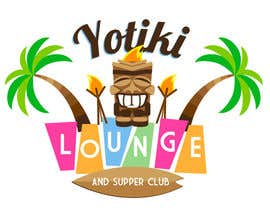 #96 untuk Design a Logo for a Tiki Bar / Restaurant - Artists with 50's flair wanted! oleh Elars
