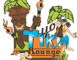 pauliciaolivier tarafından Design a Logo for a Tiki Bar / Restaurant - Artists with 50's flair wanted! için no 99