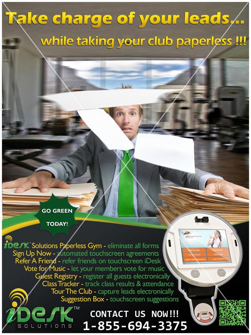 Penyertaan Peraduan #26 untuk Advertisement Design for iDesk Solutions