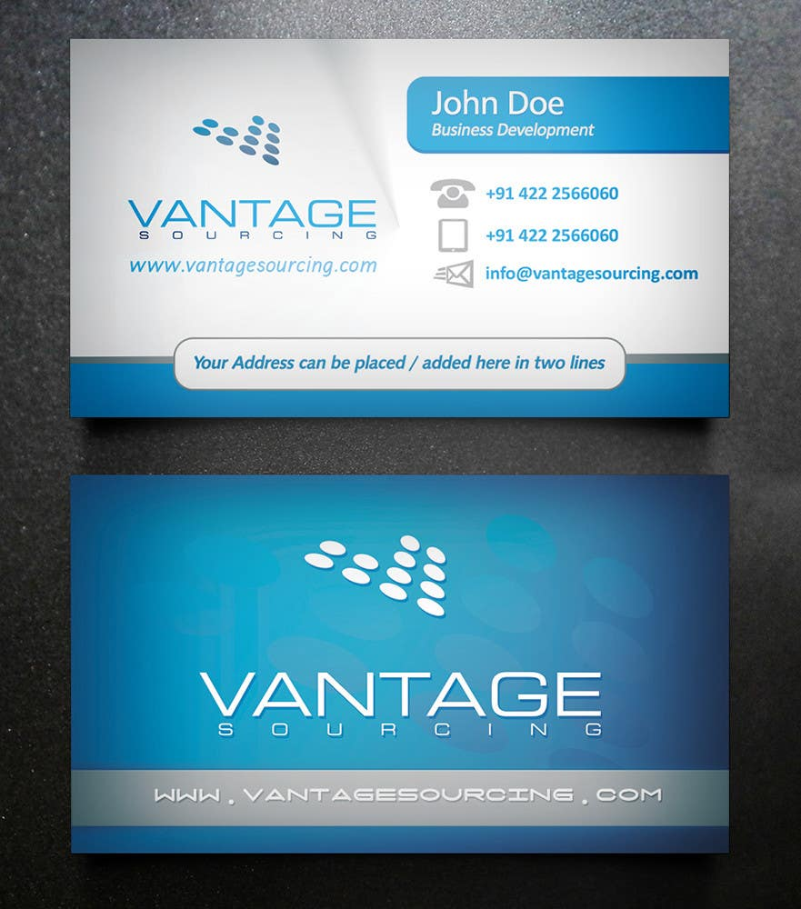 #66 for Business Card with Existing logo by creationz2011