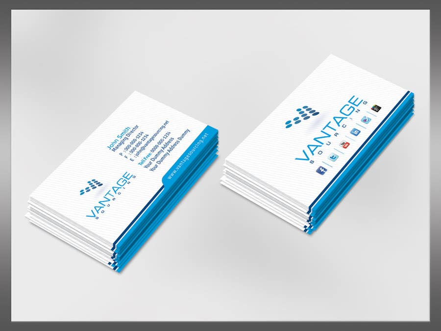 #41 for Business Card with Existing logo by kreativedhir