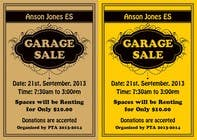 "Contest Entry #12 for Design an Advertisement for Anson Jones ES ""Garage Sale"""