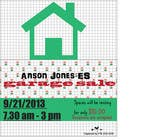 "Contest Entry #8 for Design an Advertisement for Anson Jones ES ""Garage Sale"""