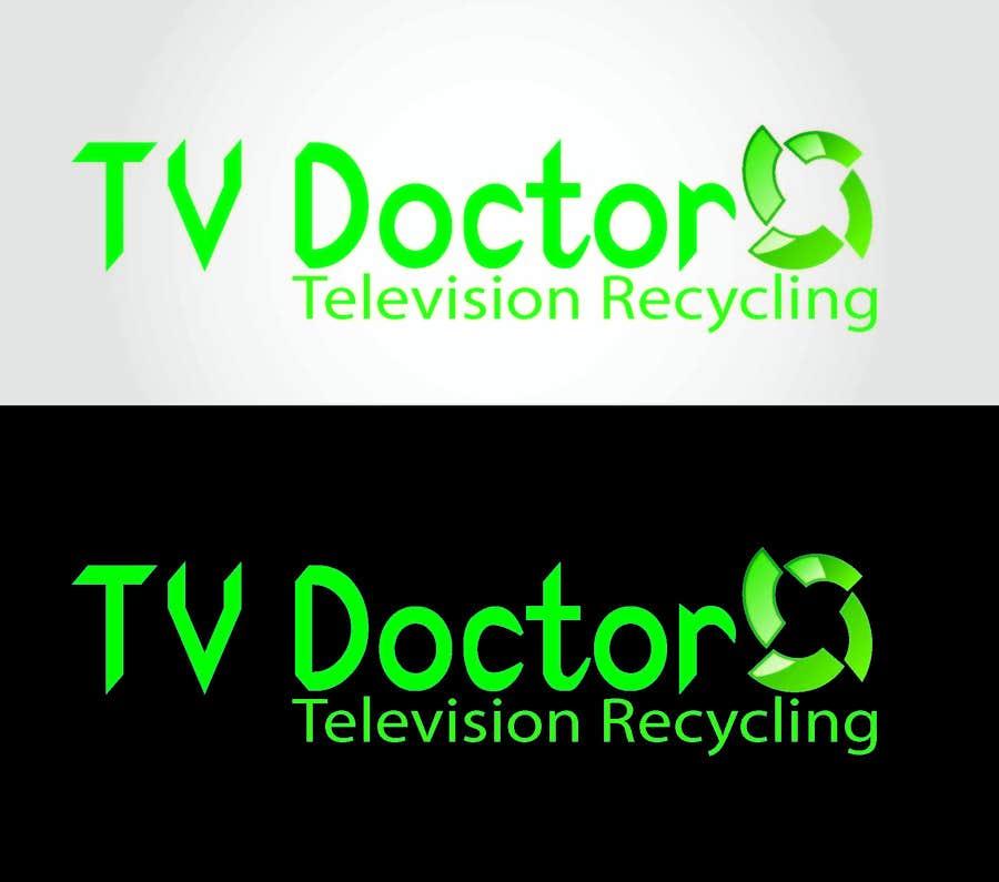 Penyertaan Peraduan #119 untuk Design a Logo for tv doctor recycling