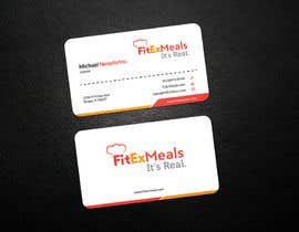 #52 for Design a Business Card for FitEx Meals by Niloyneel