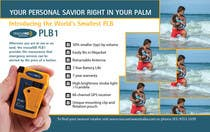 Contest Entry #3 for Design an Advertisement for Print - rescueME Personal Locator Beacon