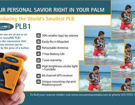 #3 untuk Design an Advertisement for Print - rescueME Personal Locator Beacon oleh blackd51th