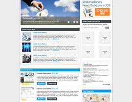 dragnoir tarafından Website Design for freelance shop için no 142
