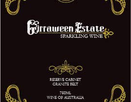 #49 untuk Art Deco Wine Label and Logo design oleh juliennecam
