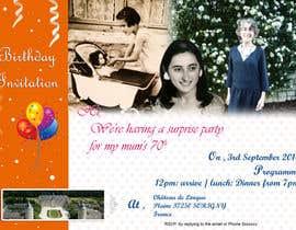 #17 for 70th Birthday invite by Nikhil7niky