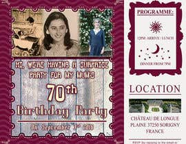 #32 for 70th Birthday invite by nitinkapoor