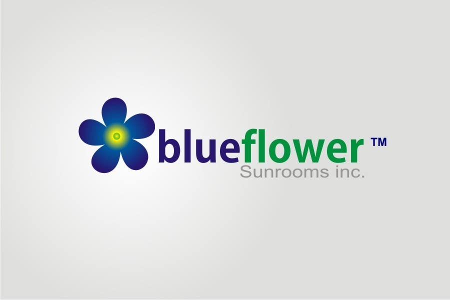 #193 for Logo Design for Blueflower TM Sunrooms Inc.  Windscreen/Sunrooms screen reduces 80% wind on deck by asifjano