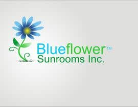 #381 para Logo Design for Blueflower TM Sunrooms Inc.  Windscreen/Sunrooms screen reduces 80% wind on deck por asifjano
