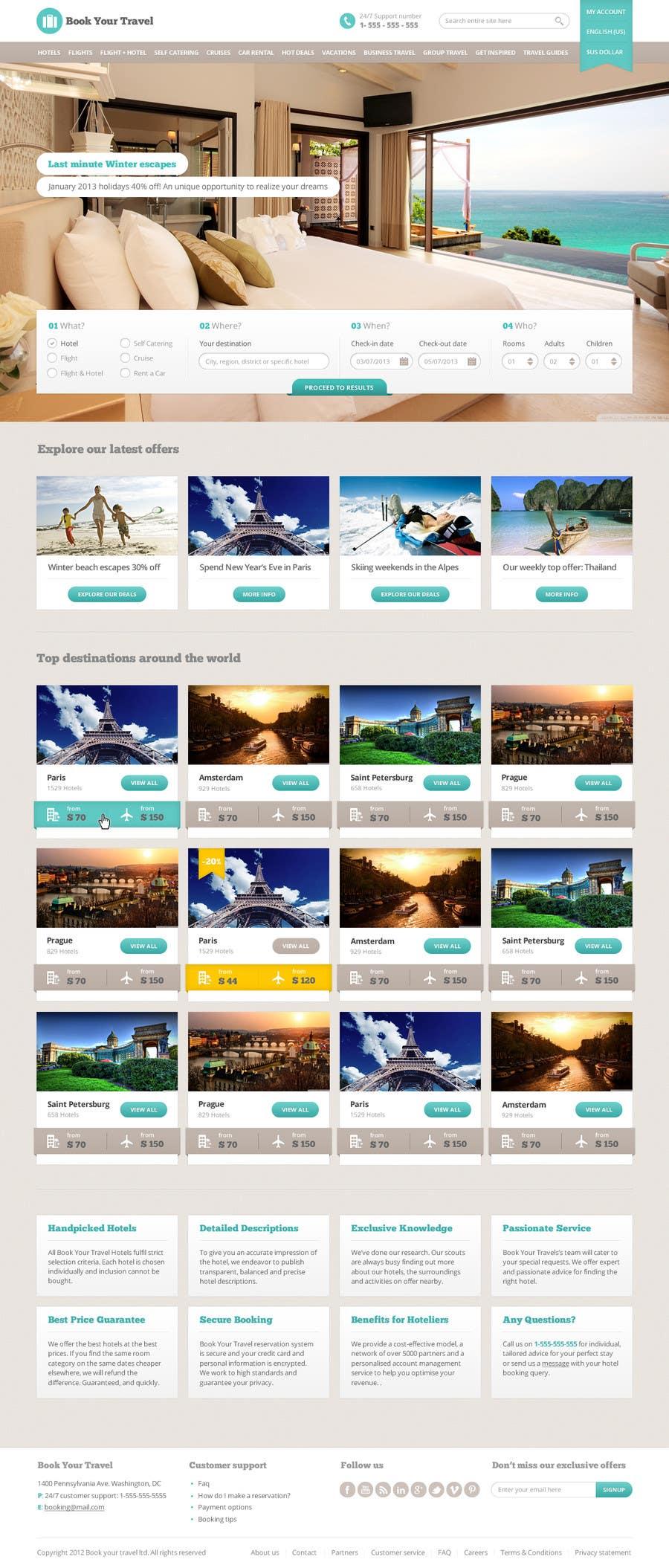 Bài tham dự cuộc thi #3 cho Hotels and flights Metasearch website