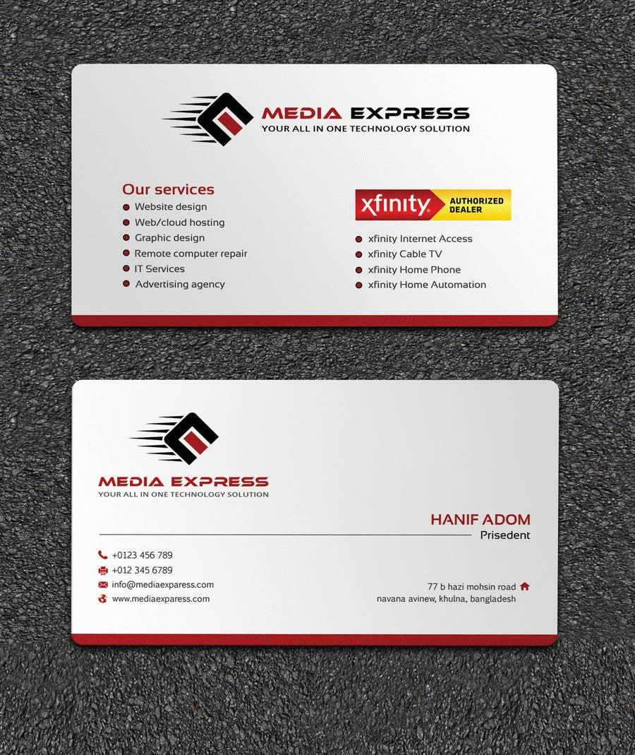 Entry 31 By Bakibillah581 For Design A Business Cards Brochures