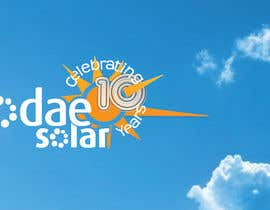 nº 16 pour Develop 10th Birthday Concept for Solar Company par SueKocian