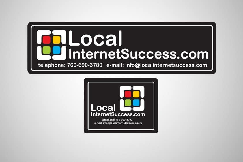 Конкурсная заявка №255 для Graphic Design for Local Internet Success.com