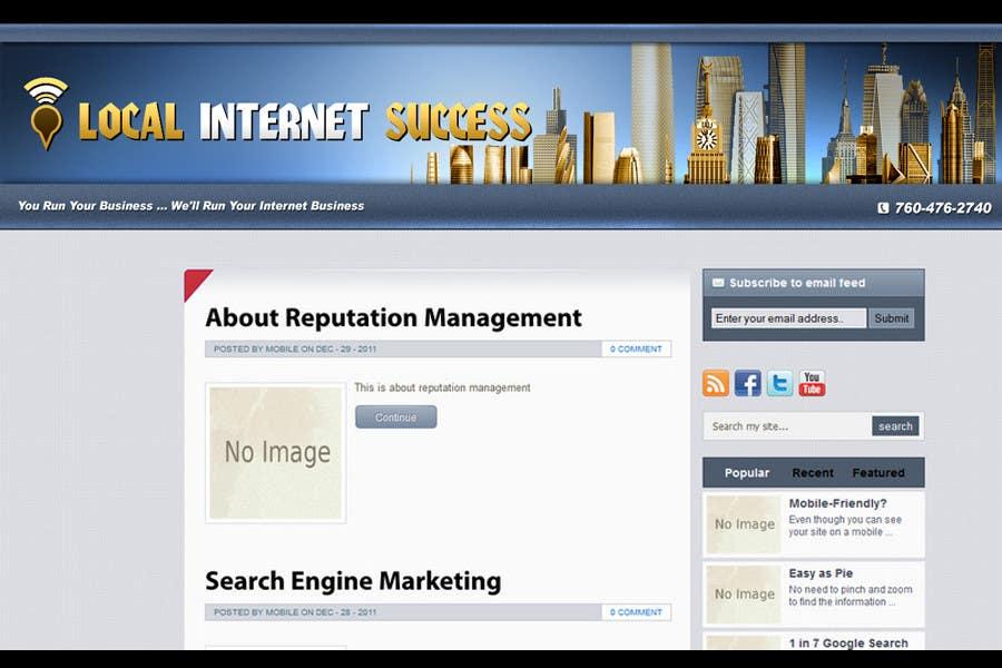 Конкурсная заявка №158 для Graphic Design for Local Internet Success.com