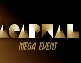 nº 30 pour Design a Logo for Agarwal Mega Events par pialisingh