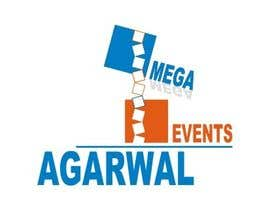 nº 54 pour Design a Logo for Agarwal Mega Events par dclaudiu