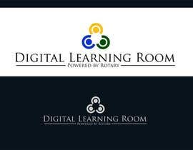#61 untuk Design a Logo for a Charity Project -  Digital Learning Room (Powered by Rotary) oleh uniqmanage