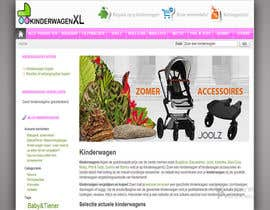 #14 untuk Design a background image for a stroller comparison site oleh sykov