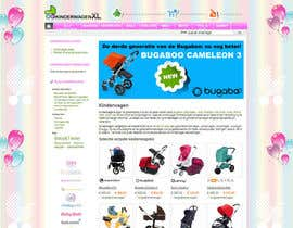 #11 untuk Design a background image for a stroller comparison site oleh RoxanaFR