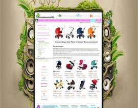 #50 for Design a background image for a stroller comparison site af nextstep789123