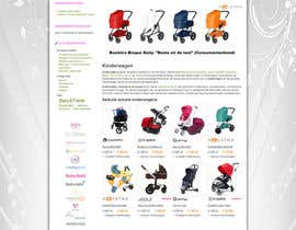 nº 53 pour Design a background image for a stroller comparison site par developingtech