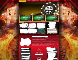 #15 para Background for casino website por Wbprofessional