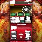 Background for casino website için Graphic Design16 No.lu Yarışma Girdisi