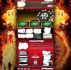 Background for casino website için Graphic Design17 No.lu Yarışma Girdisi