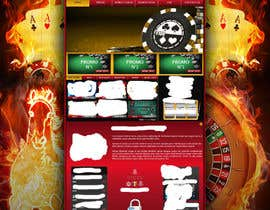 #17 para Background for casino website por Wbprofessional