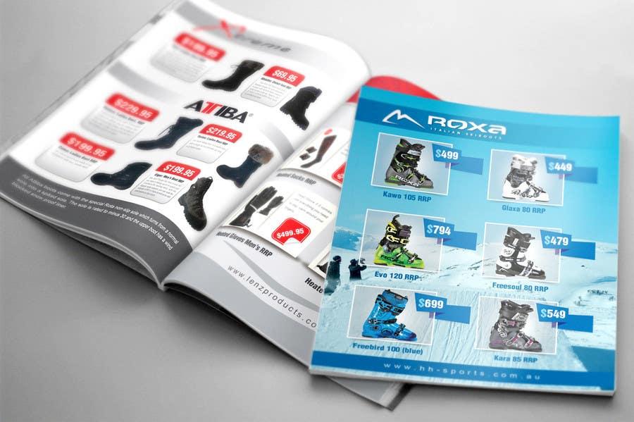 Inscrição nº 2 do Concurso para Design 3 pages of magazine ads