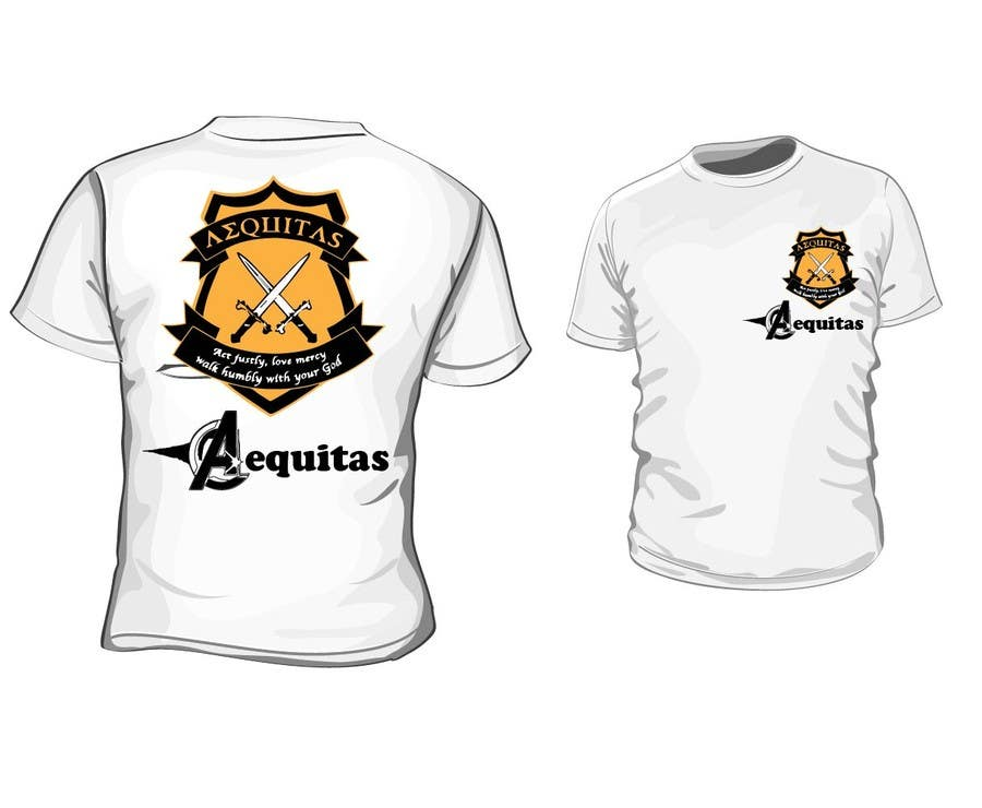 Proposition n°5 du concours Design a T-Shirt for Christian school