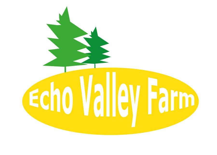 Конкурсная заявка №584 для Logo Design for Echo Valley Farm