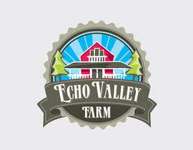 #215 untuk Logo Design for Echo Valley Farm oleh ezmode