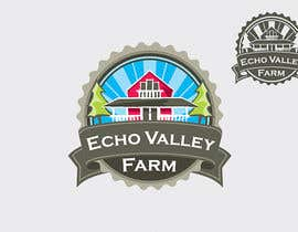 #277 pentru Logo Design for Echo Valley Farm de către ezmode