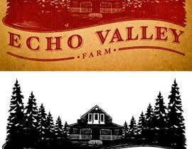 #504 para Logo Design for Echo Valley Farm por pressdsgn