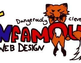 #180 for Logo Design for infamous web design: Dangerously Clever af Meemzy